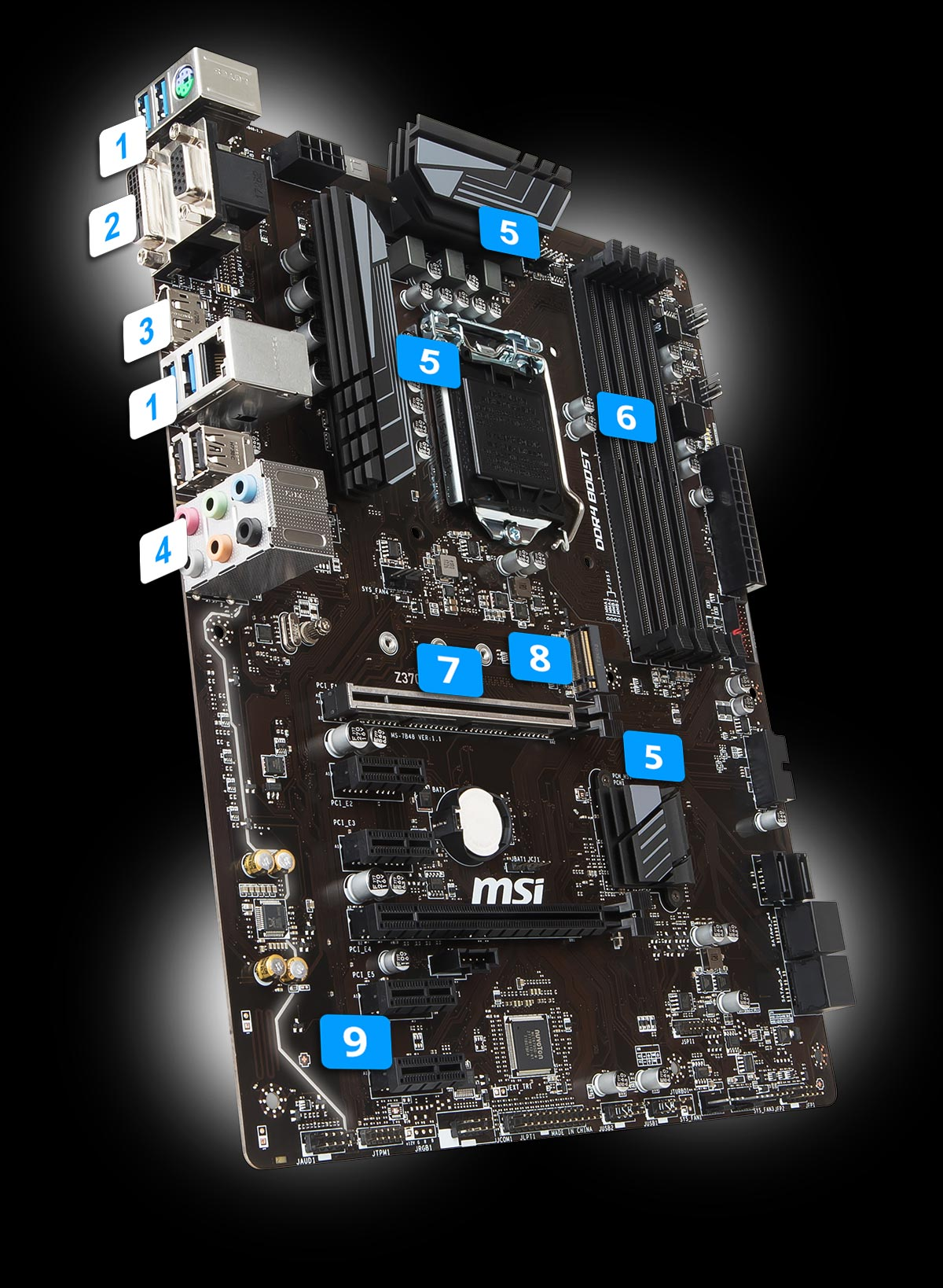 Z370 A Pro Motherboard The World Leader In Motherboard