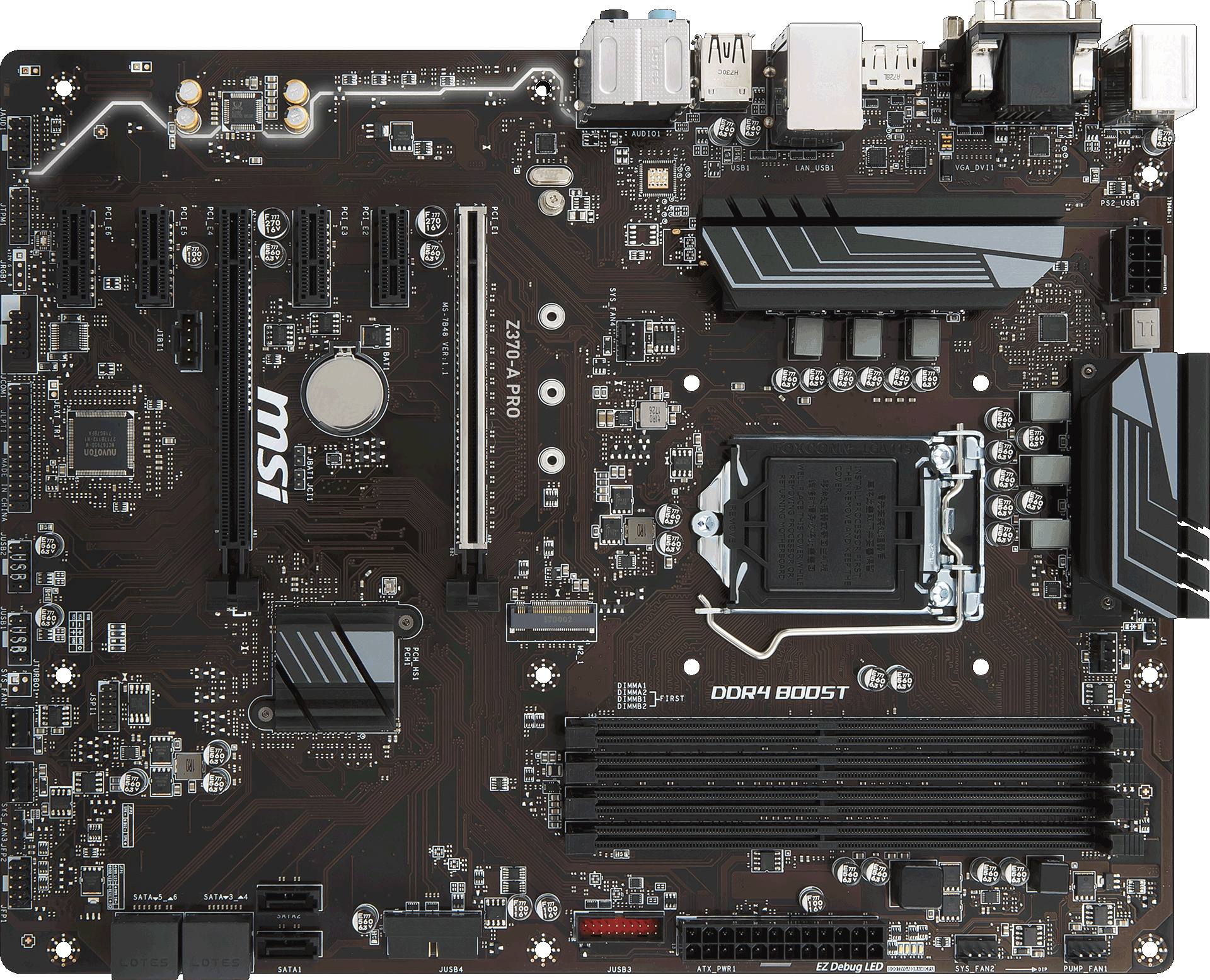 Z370 A Pro Motherboard The World Leader In Design Genie Max Circuit Board Wiring Diagram Tuning