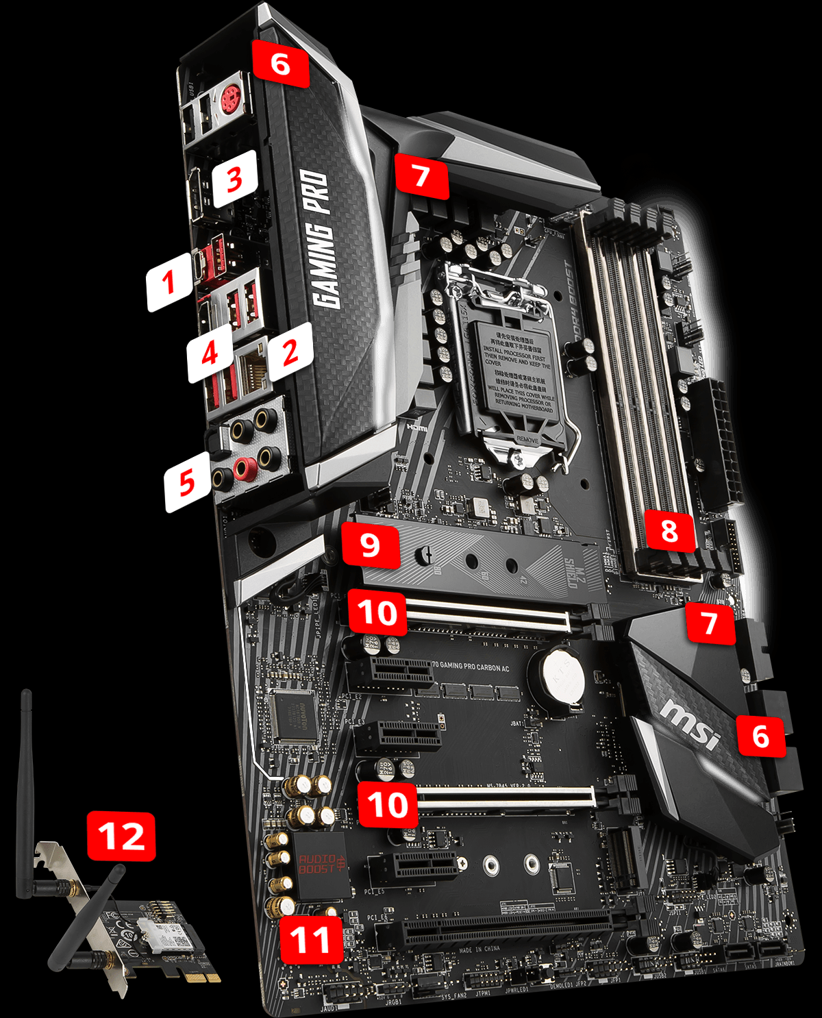 Z370 Gaming Pro Carbon Ac Motherboard The World Leader In Description Japanese Air Conditione Electrical Outletjpg Perform Style Lightning Usb 31 Gen2