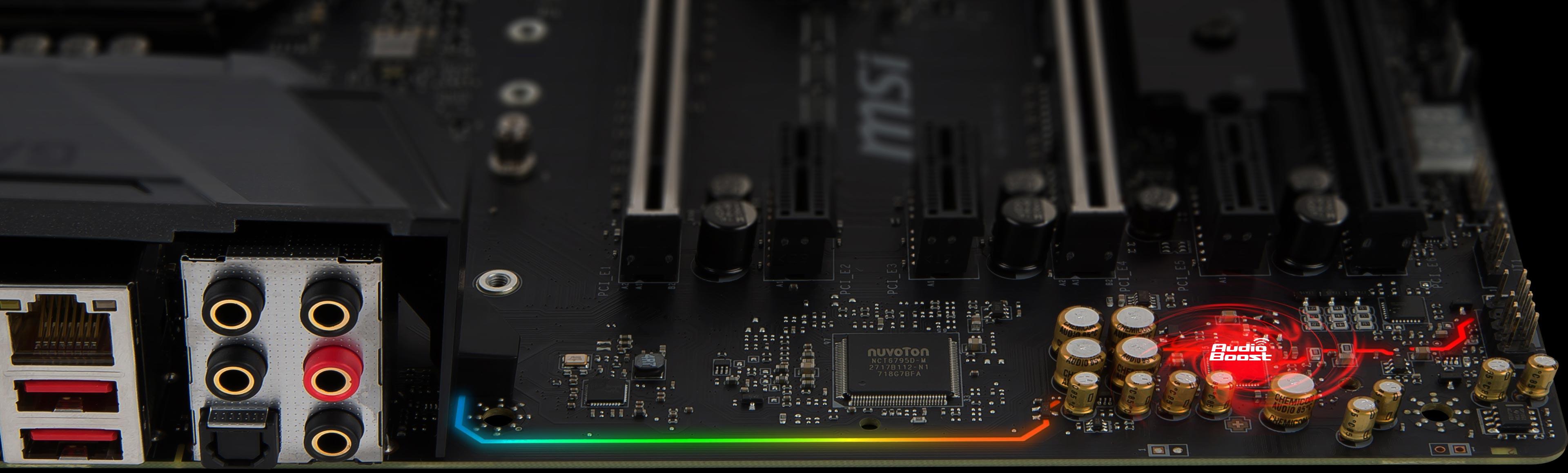 MSI Z370 GAMING M5 Enthusiast Intel Coffee Lake LGA 1151 Gaming Motherboard