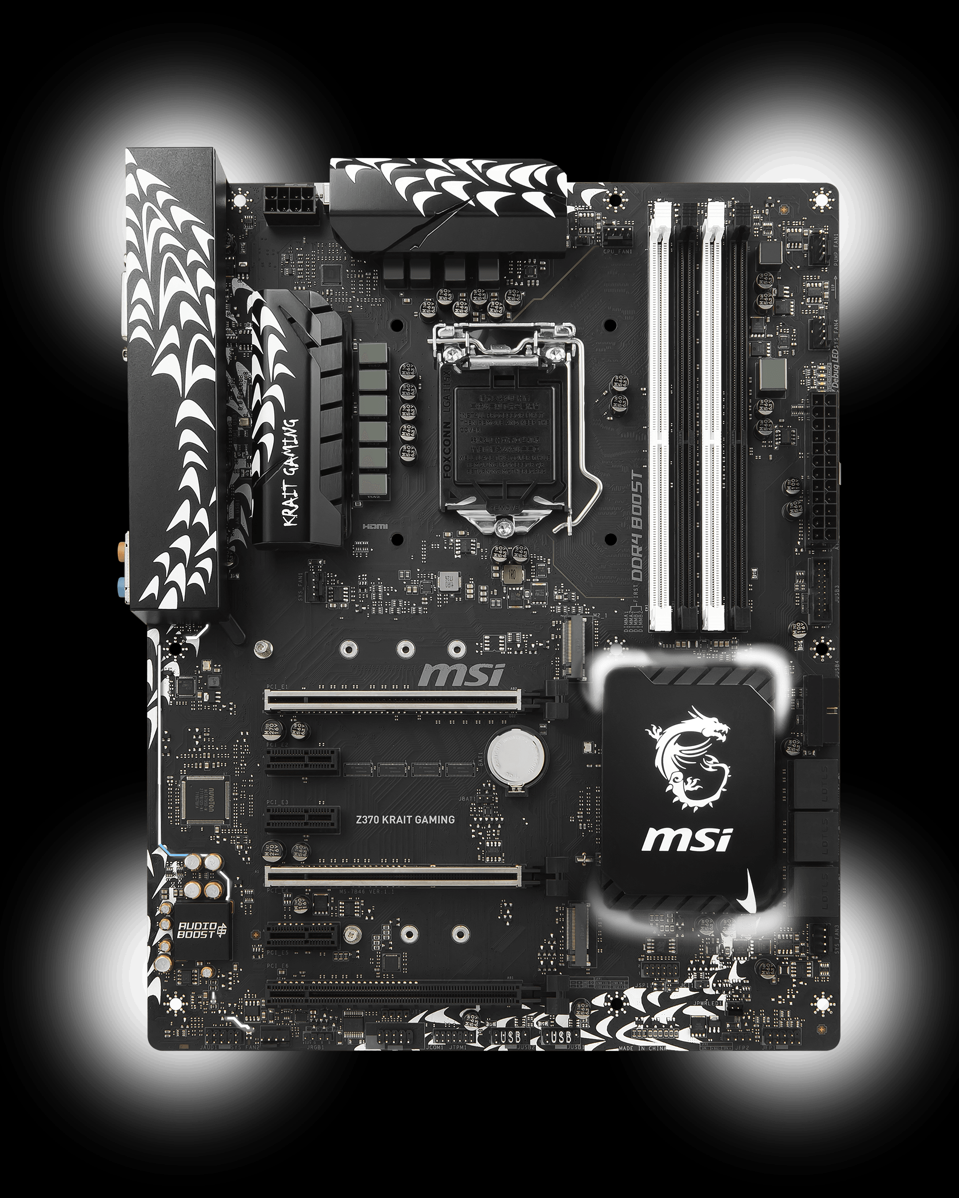 Z370 Krait Gaming Motherboard The World Leader In Custom Cpu Gpu Processing Unit Enhanced Circuit Board Design Off