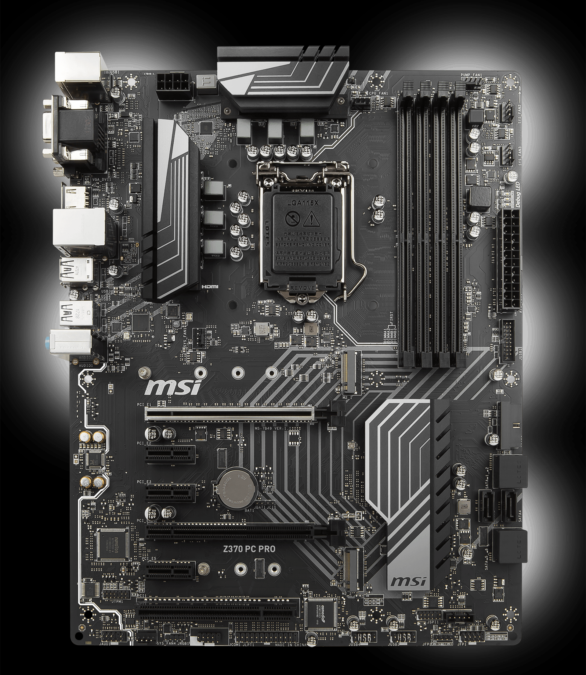 Z370 Pc Pro Motherboard The World Leader In Design Custom Cpu Gpu Processing Unit Enhanced Circuit Board Off