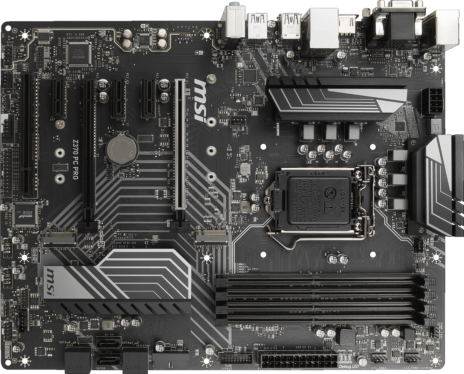 Z370 Pc Pro Motherboard The World Leader In Design Circuit Board Components Find Tuning