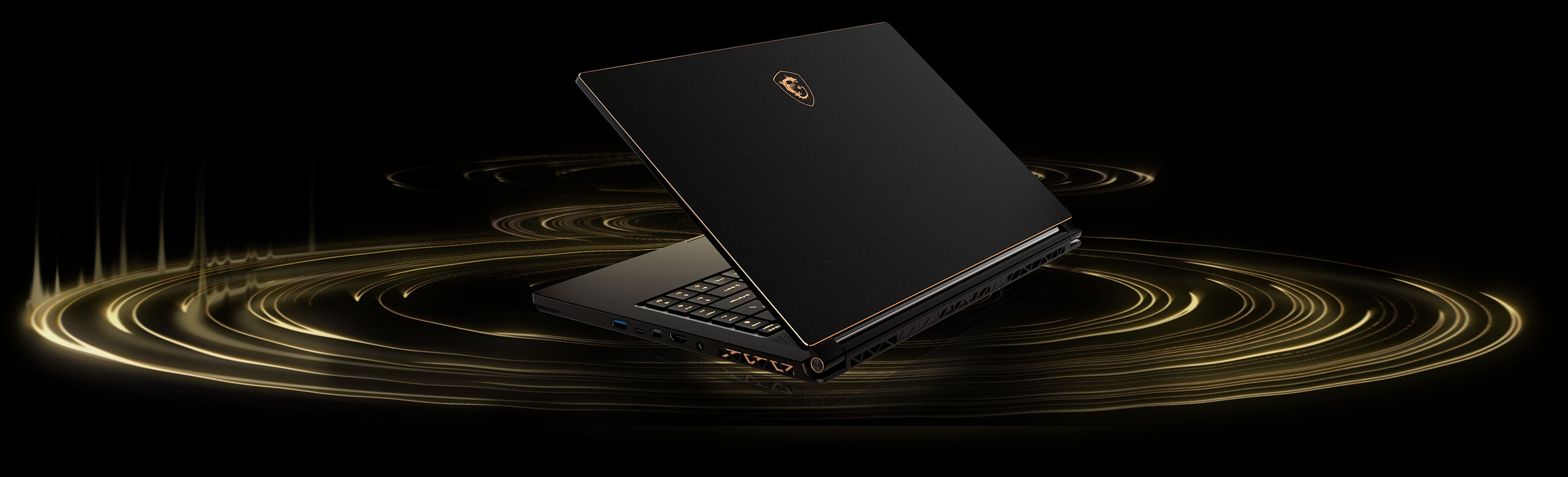 Msi Gs65 Stealth Thin 8rf Worlds First 144hz Bezel Gaming Laptop Alfa Img Showing Gt Basic Computer Monitor Diagram Enjoy Your Games And Music With The World Class Dynaudio Sound System Hi Res Audio Is Ready For Pro Headset Supporting Up To 24 Bit 192 Khz Sample