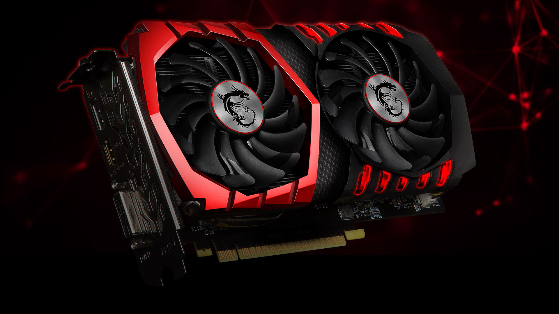 MSI - GeForce GTX 1050 Ti 4GB GAMING X 4G Graphics card