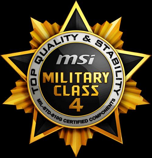 MSi Military Class 4