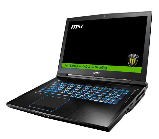 wt73vr 7rm workstation the best laptop for cad 3d modeling msi global. Black Bedroom Furniture Sets. Home Design Ideas
