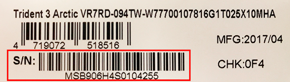Warranty Information   MSI Global