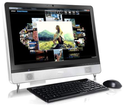 All-in-One PC Wind Top AE2400<br>The Best in Audio-Video