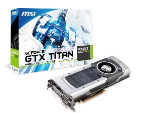 MSI Announces GeForce GTX TITAN with GPU Boost 2 0