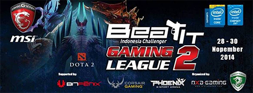 MSI BEAT IT Indonesia Challenger – Gaming League 2 Dota 2