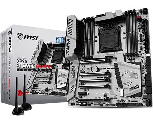 MSI LAUNCHES NEW X99 AND Z170 TITANIUM MOTHERBOARDS<br
