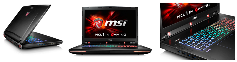 MSI GT72S Dominator Pro G Tobii, the world's first gaming