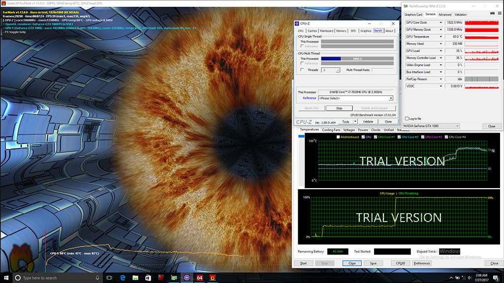 Testing the Limit of the GT75VR Titan