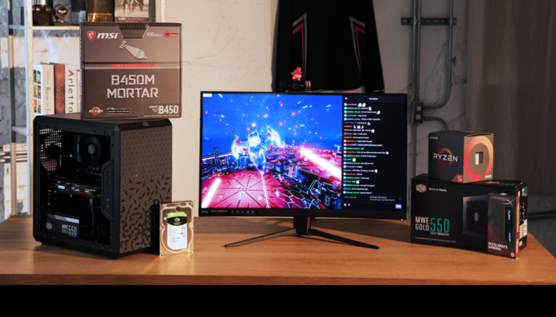 The Best mATX Streaming PC Guide : B450M MORTAR