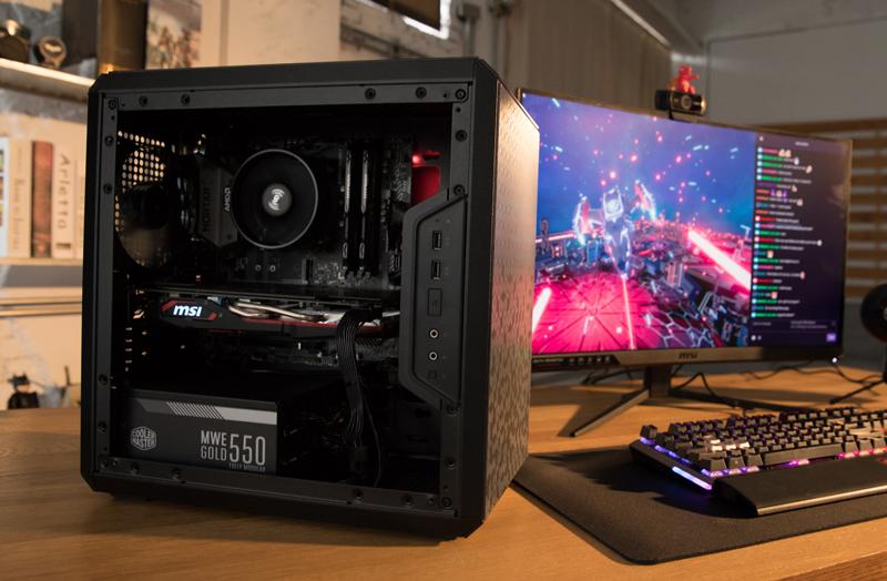 The Best mATX Streaming PC Guide : B450M MORTAR