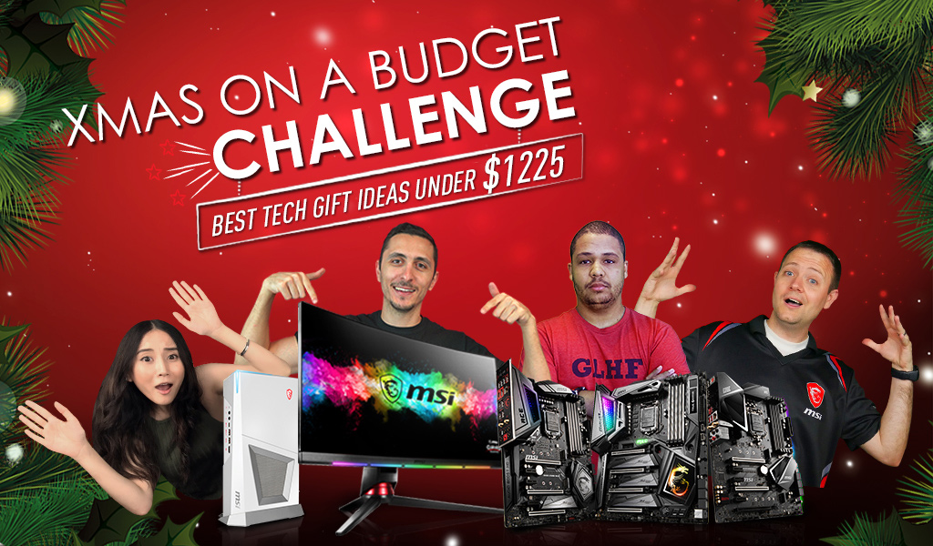 Best Tech Gift Ideas Under 1225 Christmas On A Budget Challenge