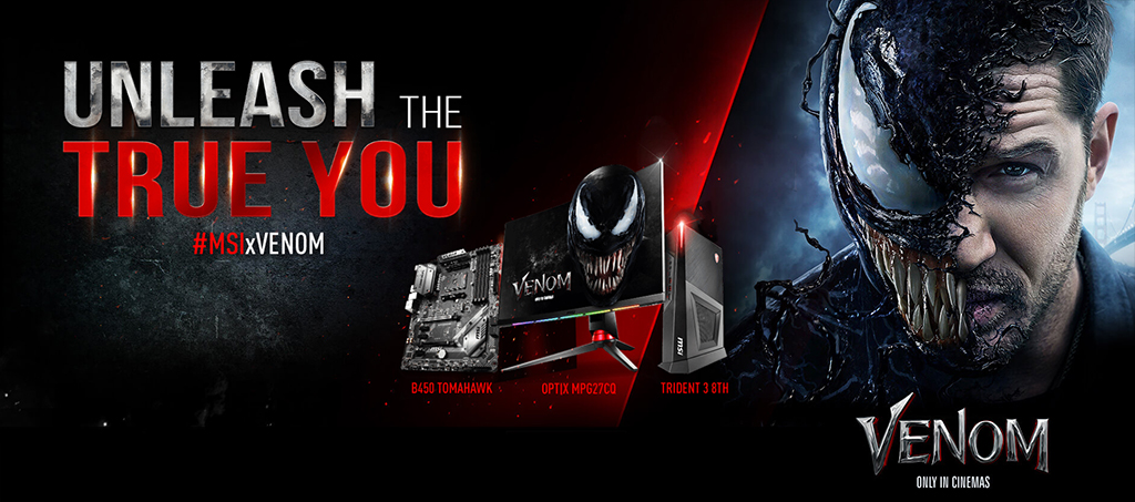 MSI Teams Up with Sony Pictures for the Upcoming Movie