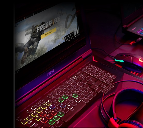 MSI Exclusive Feature〉Enjoy mobile games on MSI gaming laptops!