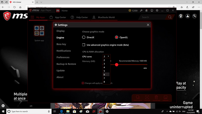MSI APP Player – Most of the mobile games begin to migrate