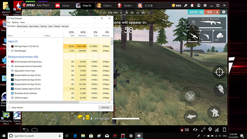 MSI APP Player – Most of the mobile games begin to migrate to the laptop