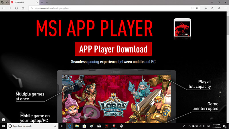 MSI App Player Android Emulator