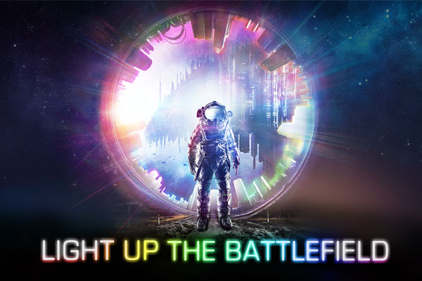LIGHT UP THE BATTLEFIELD