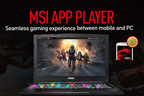 [MSI x BlueStacks] All BU Landing page request