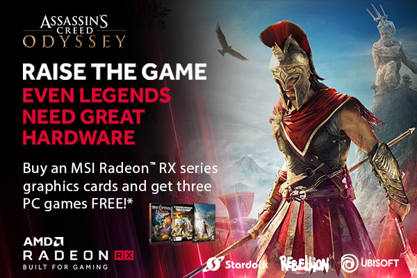 AMD Radeon Go Big Game Bundle