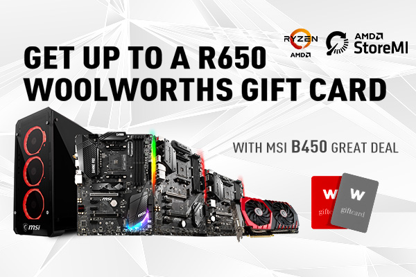 ZA B450 Woolworth Voucher Promotion