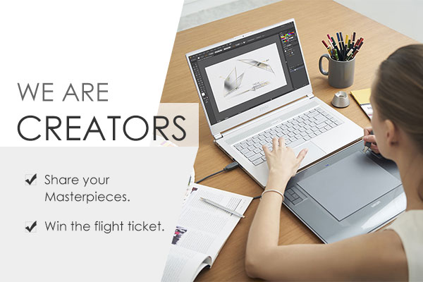 We Are Creators – A Great Opportunity to Show Your Design with the World