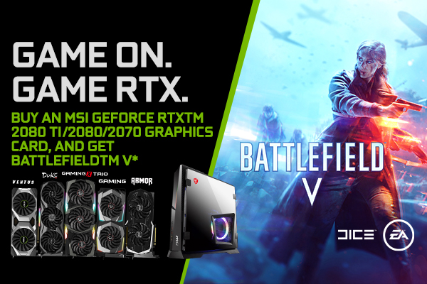 VGA-NV game bundle-GAME ON GAME RTX