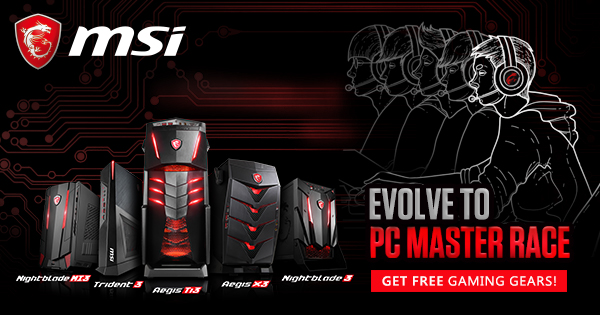 Desktop Pc Master Race Gaming Gear Bundle