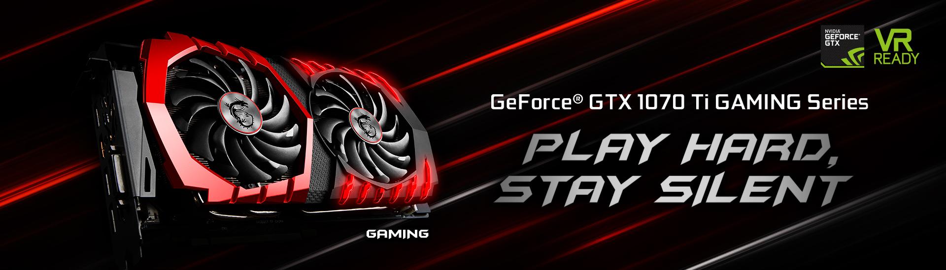 GeForce GTX 1070 Ti GAMING