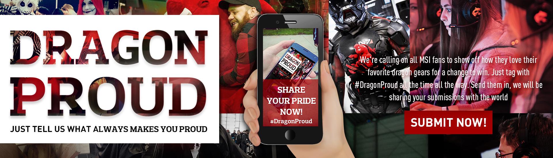 #DragonProud アドボカシーコンテスト| MSI