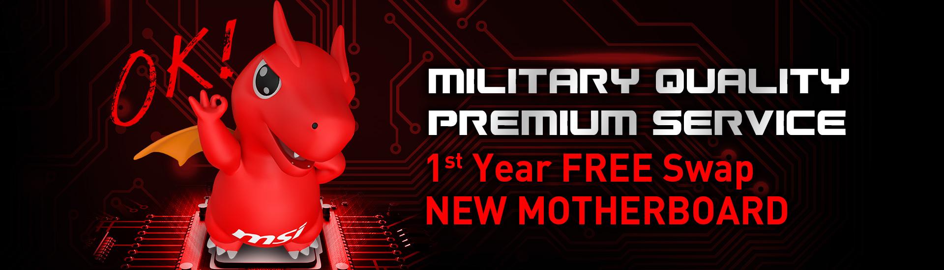 Military Quality Premium Service
