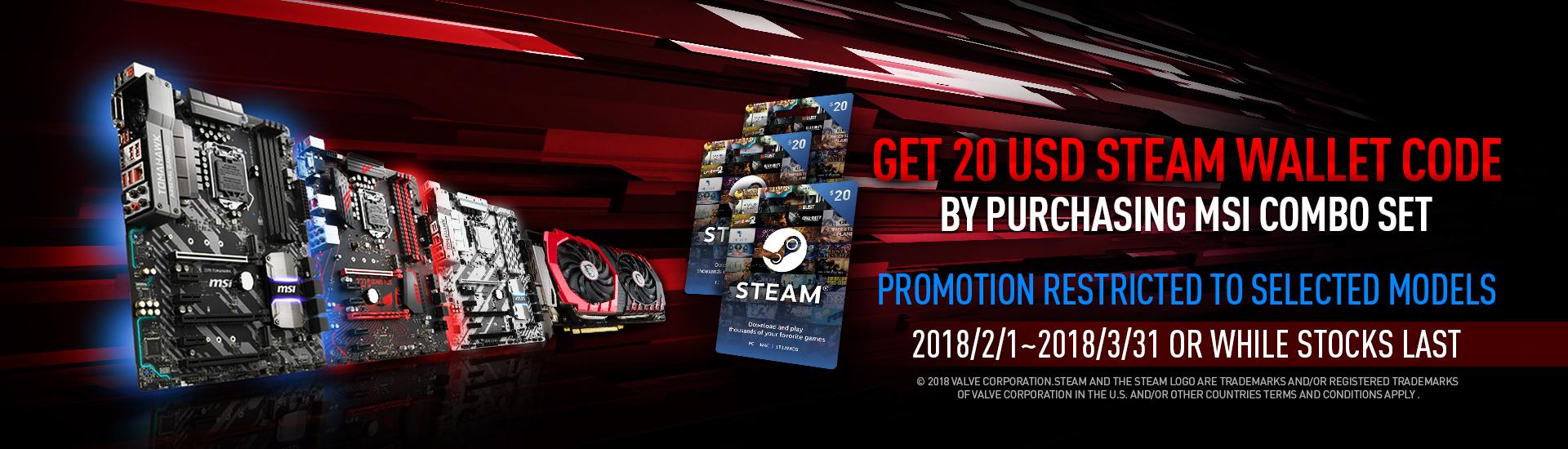 Steam Promotion