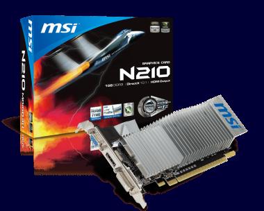 driver carte graphique msi n210