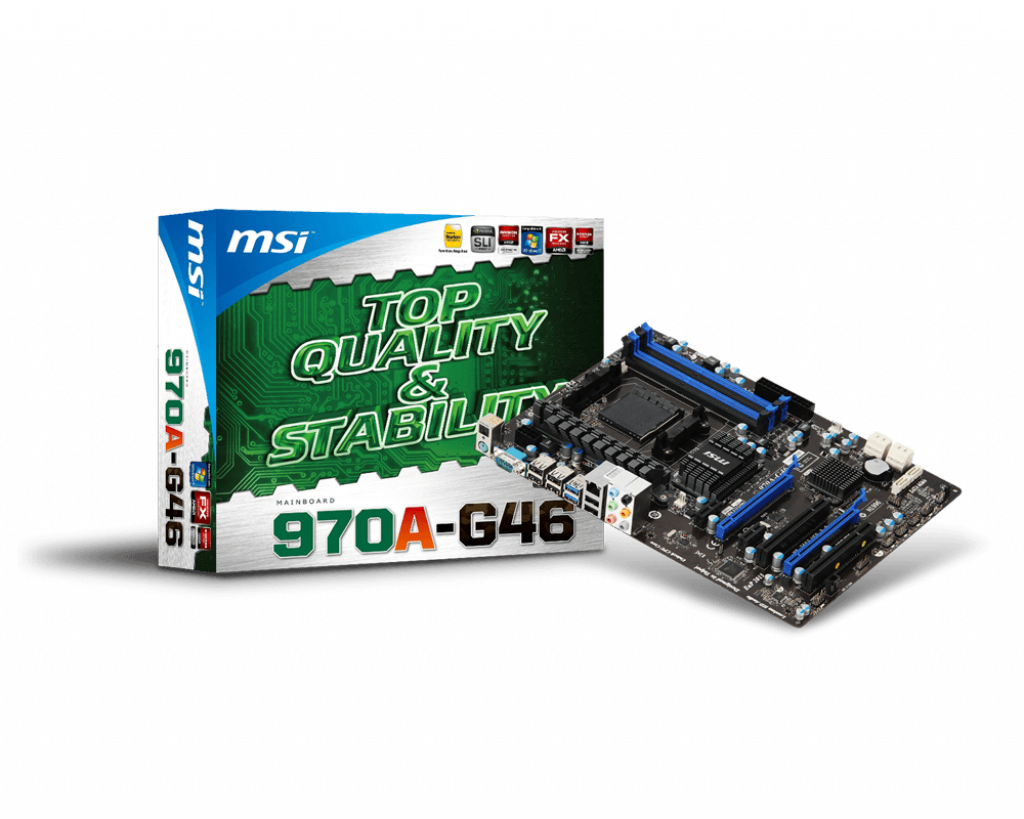 Support For 970A-G46 | Motherboard - The world leader in