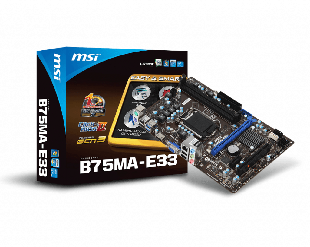 Support For B75MA-E33 | Motherboard - The world leader in