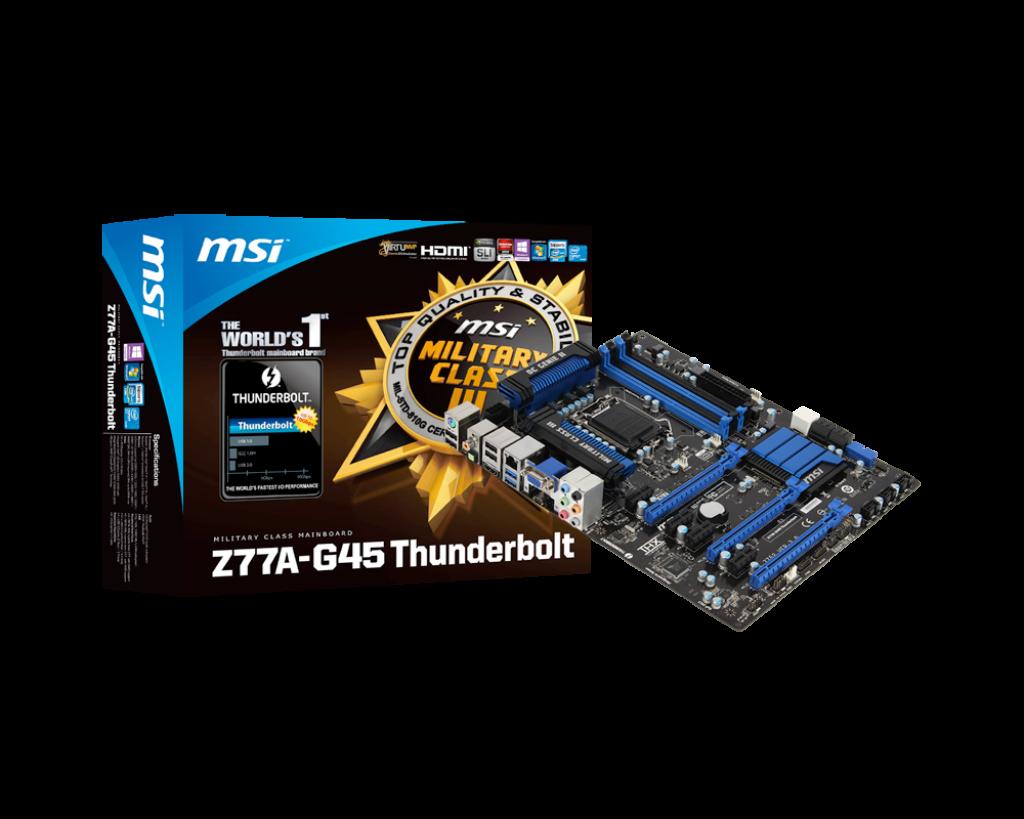 MSI Z77A-G43 Intel Management Engine Windows 8 X64
