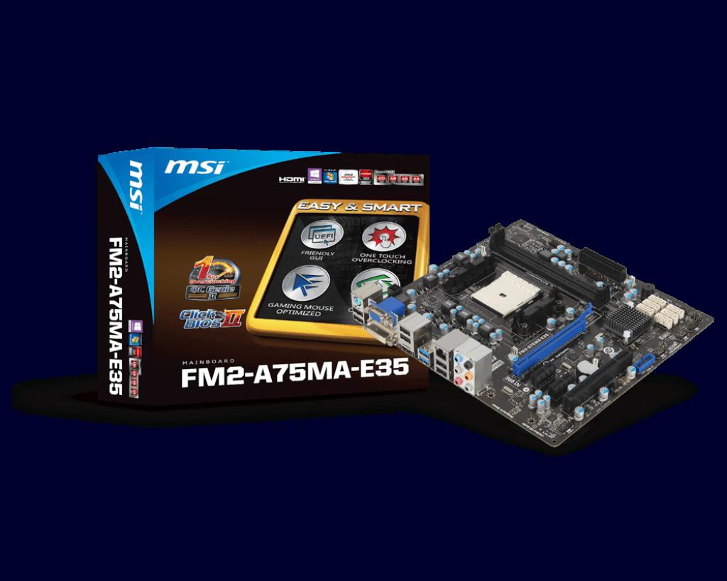 FM2-A75MA-E35