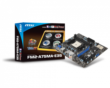Support For FM2-A75MA-E35 | Motherboard - The world leader in