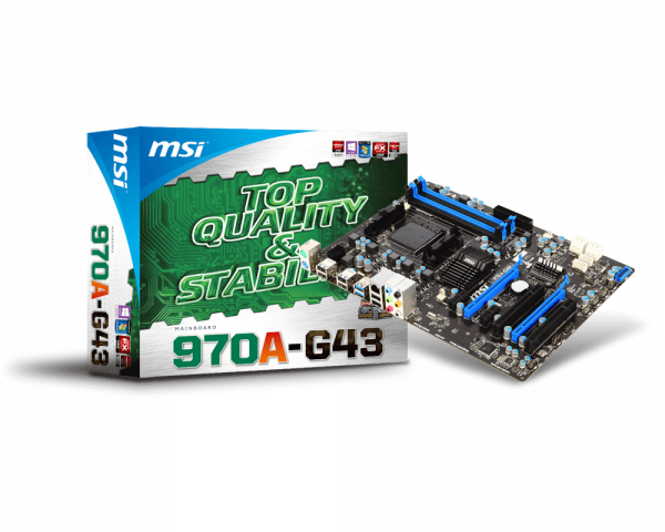 MSI 870-C43 OverClocking Center Driver for Mac Download