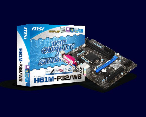 MSI H61M-P32W8 DRIVER DOWNLOAD