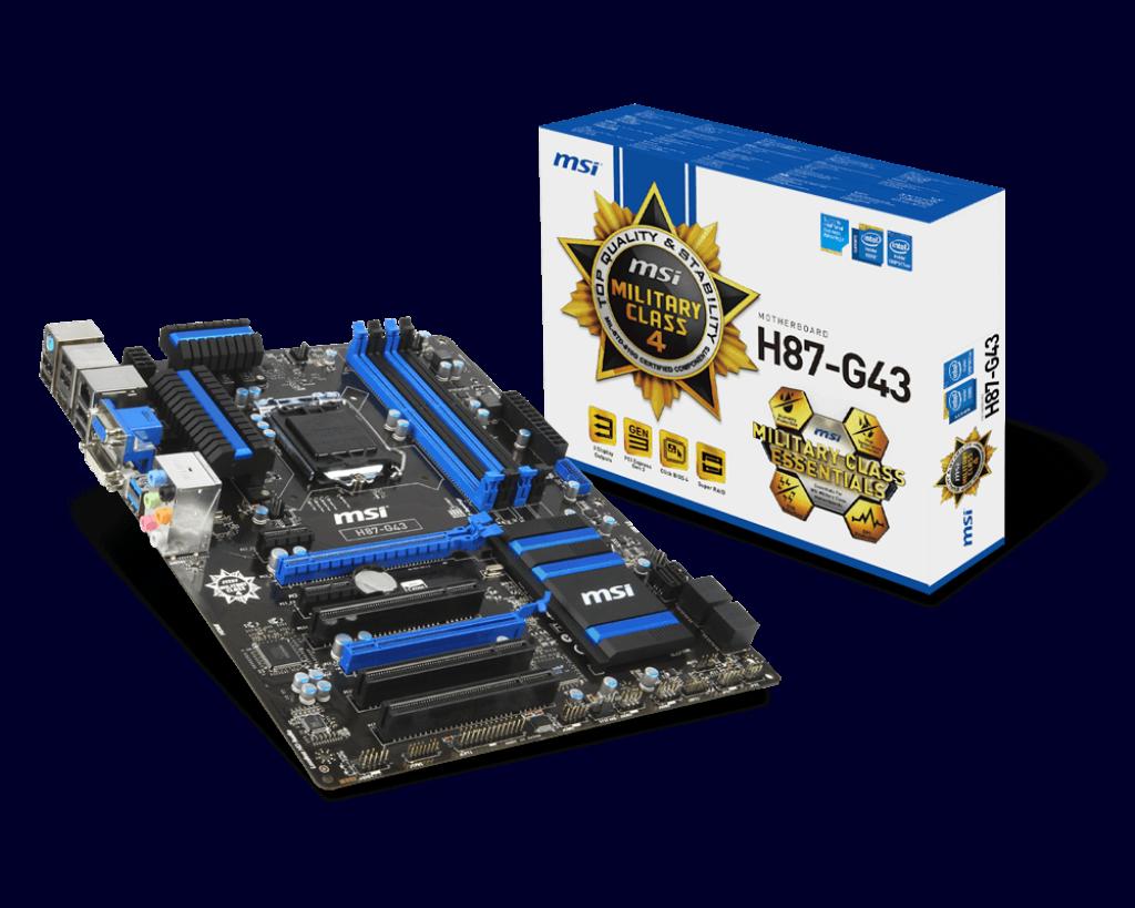 MSI H87-G43 Windows 8 X64