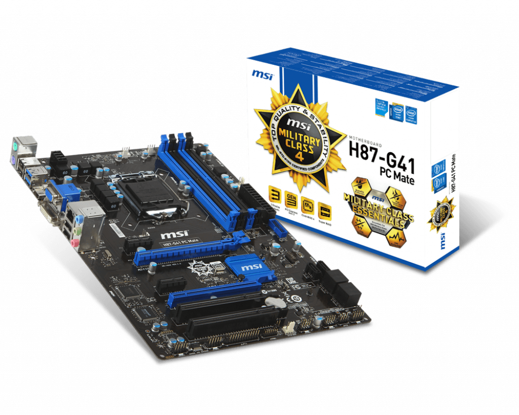 MSI H87-G41 PC Mate Intel Extreme Tuning Driver