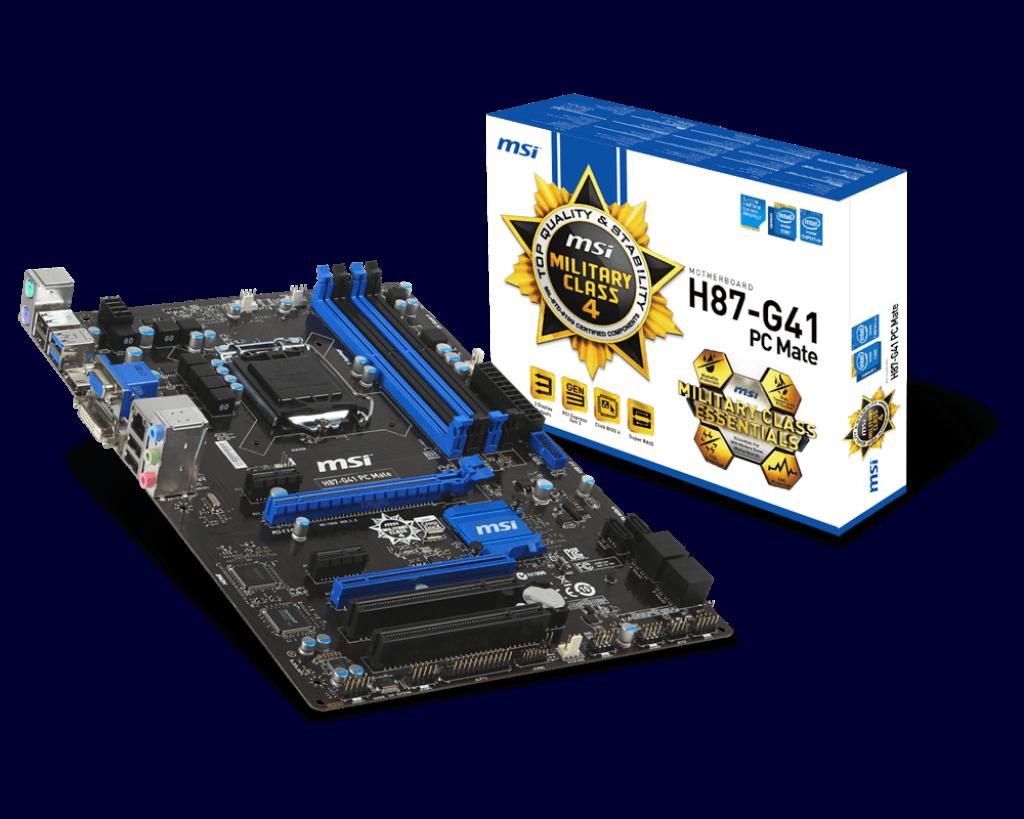MSI H87-G41 PC Mate Intel ME 64x