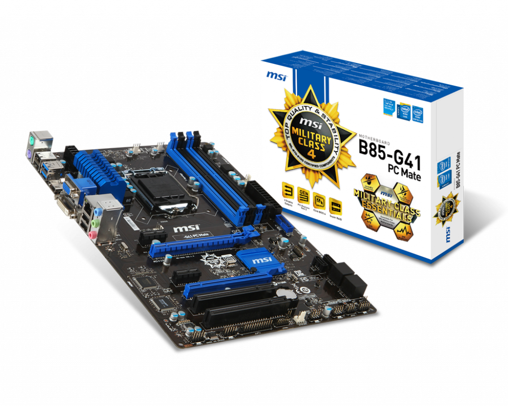 Support For B85-G41 PC Mate | Motherboard - The world leader in