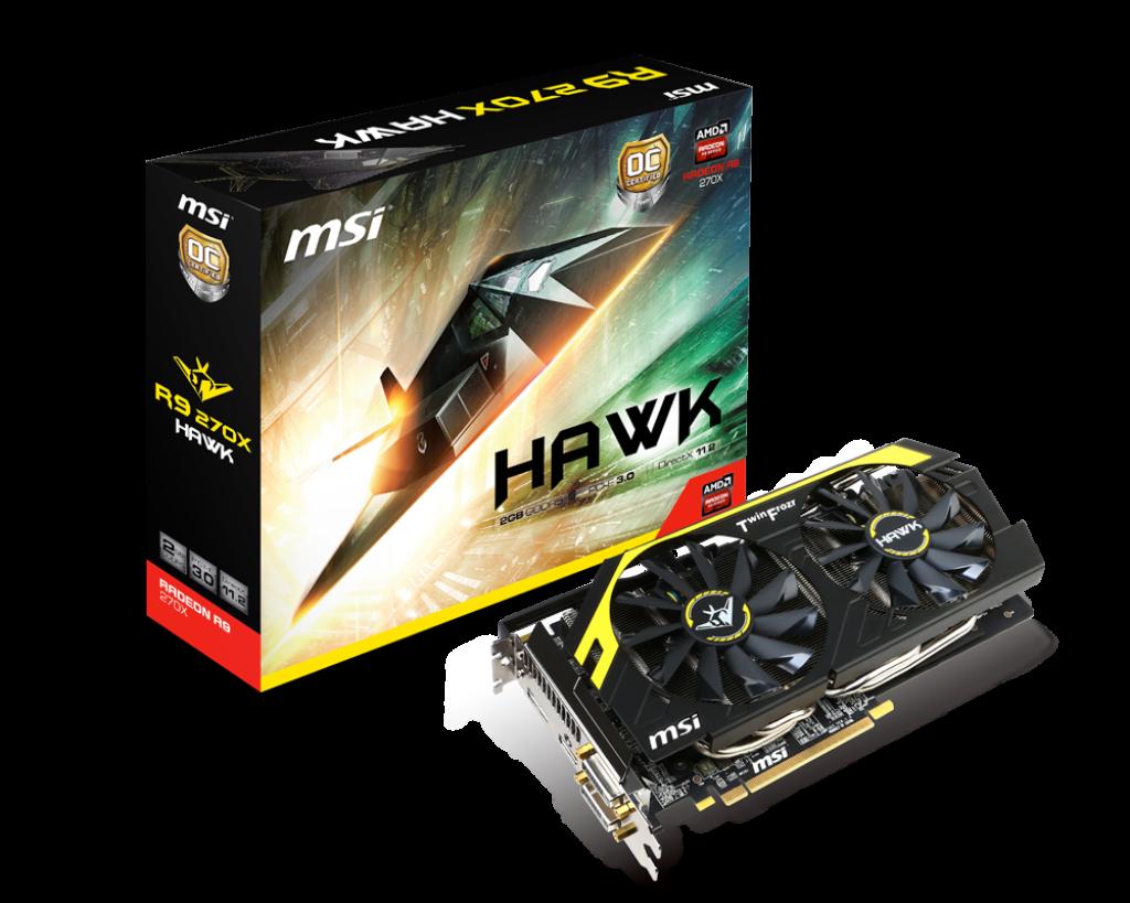 Radeon R9 270X HAWK | Graphics card - The world leader in display
